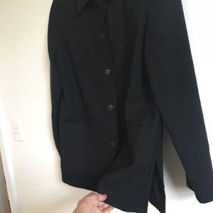 Vintage black chore coat